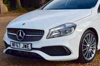 "USED 2017 67 MERCEDES-BENZ A CLASS 2.1 A 200 D AMG LINE 5d 134 BHP FMBSH, 1 PRIVATE OWNER, SAT-NAV, REVERSE CAMERA, B'TOOTH, 18"" ALLOYS"