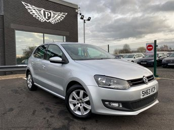 2013 VOLKSWAGEN POLO 1.4 MATCH EDITION 5d 83 BHP £5555.00