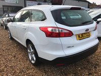 USED 2012 62 FORD FOCUS 1.6 TITANIUM TDCI 115 5d 114 BHP ONLY £20 YEARLY ROAD FUND: