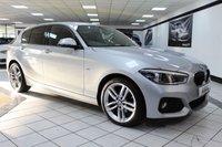 USED 2015 15 BMW 1 SERIES 2.0 120D XDRIVE M SPORT AUTO 190 BHP PRO NAV HEATED SEATS FSH CAMERA LED!