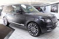 USED 2016 65 LAND ROVER RANGE ROVER 4.4 SDV8 AUTOBIOGRAPHY AUTO 339 BHP DEPLOY STEPS REAR DVD 1 OWNER!
