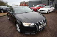 USED 2013 13 AUDI A3 1.4 TFSI SE 5d 121 BHP AUDI SERVICE HISTORY 1 PREVIOUS KEEPER £2215 WORTH OF OPTIONAL EXTRAS