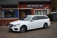 USED 2015 64 MERCEDES-BENZ E CLASS 2.1 E220 BLUETEC AMG LINE 5d 174 BHP 2 Owners! Full Service History!
