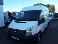 2013 FORD TRANSIT 2.2 280 100BHP H2 L1 MEDIUM ROOF SWB £7495.00