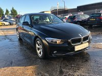 USED 2012 12 BMW 3 SERIES 2.0 320D EFFICIENTDYNAMICS 4d 161 BHP HISTORY+ALLOYS+MEDIA+ELECS+CD+20 ROADTAX+AIRCON+CRUISE+CLEAN CAR+