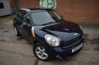 USED 2012 12 MINI COUNTRYMAN 1.6 ONE 5d 98 BHP WE OFFER FINANCE ON THIS CAR