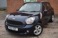 2012 MINI COUNTRYMAN 1.6 ONE 5d 98 BHP £6490.00