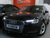 USED 2016 66 AUDI A4 AVANT 2.0 TDI ULTRA SPORT 5d 150 S/S £20 TAX, 1 OWNER, FULL AUDI HIST, SAT NAV, AUDI SMART PHONE W/ APPLE CAR PLAY & ANDROID AUTO, AUDI CONNECT, DAB, CRUISE W/ SPEED LIMITER, LED DAYTIME RUNNING LIGHTS, XENON HEADLIGHTS, BLUETOOTH W/ AUDIO STREAMING, REAR PARKING SENSORS, 17 INCH ALLOYS, ELEC TAILGATE, SILVER ROOF RAILS, SPORT SEATS, LEATHER MULTIFUNCTION STEERING WHEEL, LIGHT & RAIN SENSORS, AUDI DRIVE SELECT, KEYLESS START, WIFI, AUX INPUT, 2x USB PORTS, CD W/ 2x SD READERS & SIM READER, TYRE PRESSURE MONITORING, VAT QUALIFYING