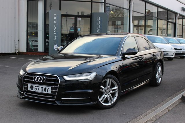 USED 2017 67 AUDI A6 SALOON 2.0 TDI ultra S line S Tronic (s/s) 4dr