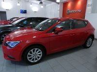 USED 2015 65 SEAT LEON 1.4 TSI SE TECHNOLOGY 5d 125 S/S 1 OWNER FROM NEW, FULL SERVICE HISTORY, £30 ROAD TAX (120 G/KM), SAT NAV, BLUETOOTH PHONE & MUSIC STREAMING, DAB RADIO, MANUAL 6 SPEED, LED FRONT & REAR LIGHTS, FRONT FOG LIGHTS, 16 INCH 10 SPOKE ALLOYS, GREY CLOTH INTERIOR, LEATHER MULTIFUNCTION STEERING WHEEL, CRUISE CONTROL, ELECTRIC WINDOWS x4, ELECTRIC HEATED MIRRORS, REMOTE CENTRAL LOCKING, MFD TRIP COMPUTER, CD HIFI WITH 2x SD CARD READERS, AUX & USB INPUTS, AIR CONDITIONING, FRONT CENTRE ARM REST, ILLUMINATING VANITY MIRRORS, VAT Q