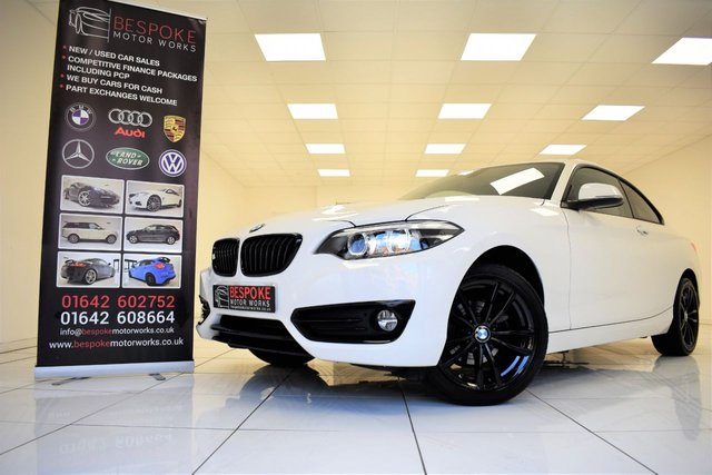 2017 67 BMW 2 SERIES 218D SPORT COUPE