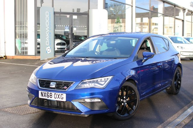 USED 2018 68 SEAT LEON 1.4 TSI FR Technology (s/s) 5dr