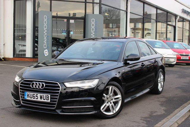 USED 2015 65 AUDI A6 SALOON 2.0 TDI 190 BHP ultra S line Auto S Tronic (s/s) 4dr