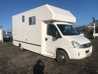 USED 2011 60 IVECO DAILY 70C17 3.0 TD 170 HORSEBOX WITH DAY CABIN