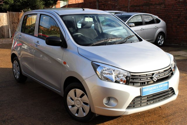 USED 2017 17 SUZUKI CELERIO 1.0 SZ2 5d 67 BHP **** ZERO ROAD TAX * 65.7 MPG ****