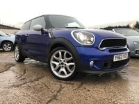"USED 2013 63 MINI MINI PACEMAN 2.0 COOPER SD 3d 143 BHP PRIVGLASS+NAV+LEATHER+MEDIA+HISTORY+PARK+19"" ALLOYS+CLIMATE+CD+"