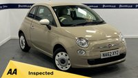 USED 2012 62 FIAT 500 1.2 COLOUR THERAPY 3d 70 BHP (£30 ROAD TAX - LOW INSURANCE)
