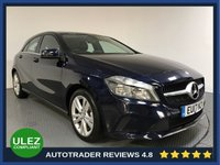 USED 2017 17 MERCEDES-BENZ A CLASS 1.5 A 180 D SPORT 5d 107 BHP FULL MERCEDES HISTORY - 1 OWNER - REAR SENSORS - LEATHER - CAMERA - AIR CON - BLUETOOTH - CRUISE