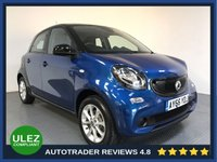 USED 2016 66 SMART FORFOUR 1.0 PASSION 5d 71 BHP FULL SMART HISTORY - 1 OWNER - LOW MILES - ULEZ OK - AIR CON - BLUETOOTH - ISOFIX POINTS
