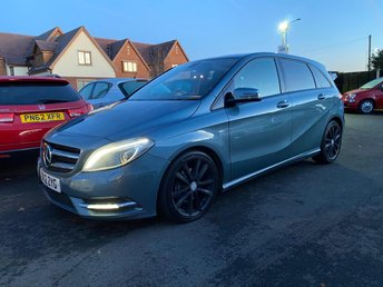 2012 MERCEDES-BENZ B-CLASS B200 1.8 CDI BLUEEFFICIENCY SPORT AUTO 136 BHP LEATHER £6980.00