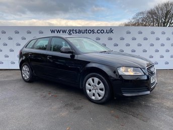 2009 AUDI A3 SPORTBACK 1.6 MPI FIVE DOOR 102 BHP AIR CON £3980.00