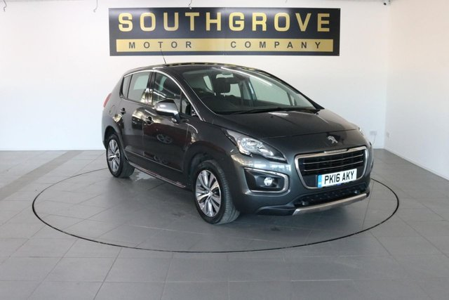 USED 2016 16 PEUGEOT 3008 1.6 BLUE HDI S/S ACTIVE 5d 120 BHP