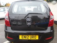 USED 2012 12 HYUNDAI I10 1.2 ACTIVE 5d 85 BHP GUARANTEED TO BEAT ANY 'WE BUY ANY CAR' VALUATION ON YOUR PART EXCHANGE