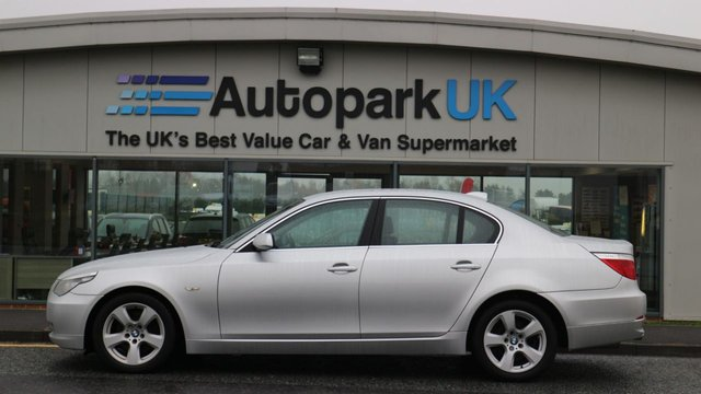 USED 2008 08 BMW 5 SERIES 3.0 525D SE 4d 195 BHP LOW DEPOSIT OR NO DEPOSIT FINANCE AVAILABLE