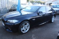 USED 2014 14 BMW 5 SERIES 2.0 520D M SPORT 4d 181 BHP