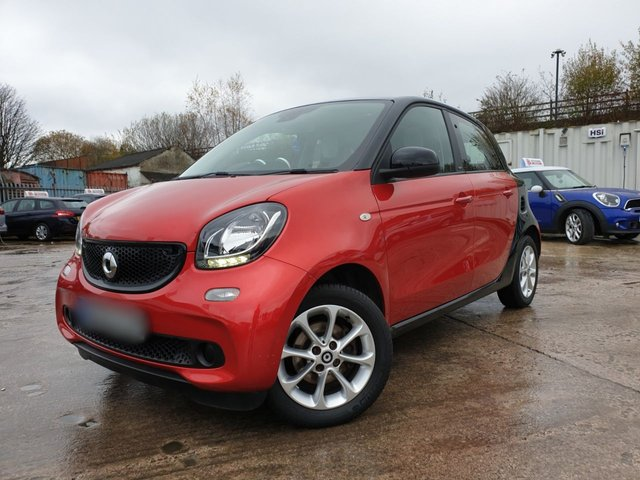 USED 2015 65 SMART FORFOUR 1.0 PASSION 5d 71 BHP 2KEYS+ALLOYS+0 ROAD TAX+MEDIA+AIRCON+CLEAN CAR+ELECS+CLIMATE+AUX+