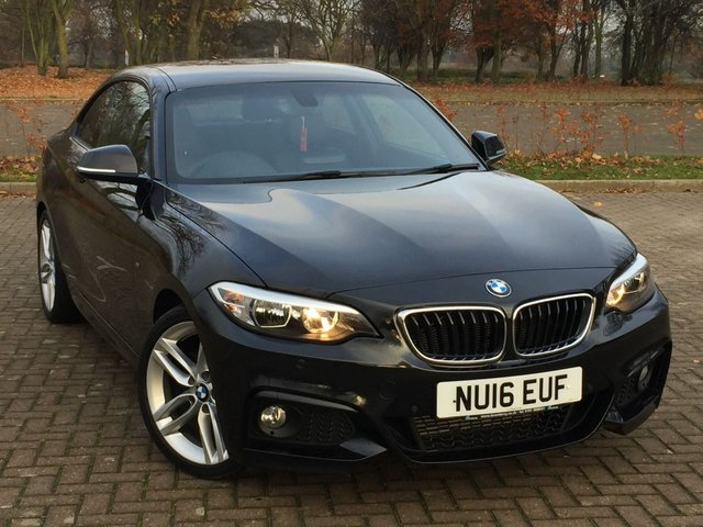 USED 2016 16 BMW 2 SERIES 2.0 218D M SPORT 2d 148 BHP