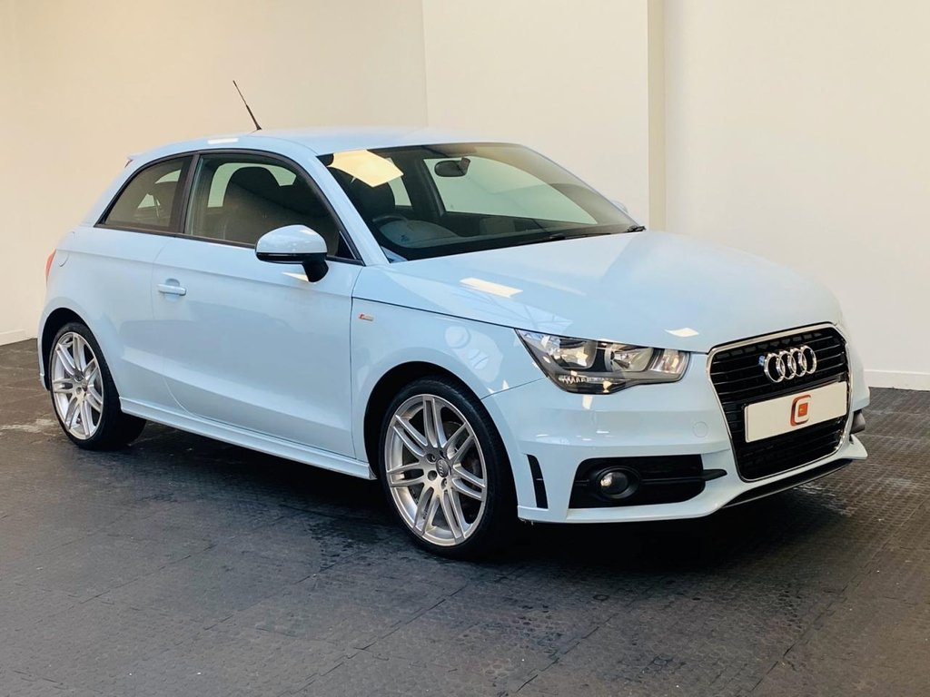 USED 2011 60 AUDI A1 1.6 TDI S LINE 3d 103 BHP CHEAP TAX AND INSURANCE + SOUGHT AFTER MODEL IN THIS COLOUR