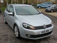 USED 2011 61 VOLKSWAGEN GOLF 2.0 GT TDI 5d 138 BHP Low mileage  49k FSH, Finished in REFLEX SILVER, Bluetooth, DAB, Cruise Control, Air conditioning, 145 RFL, Immaculate condition, Heated leather seats.