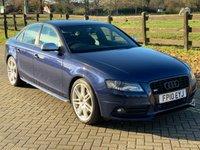2010 AUDI A4 3.0 S4 QUATTRO 4d 329 BHP £9909.00