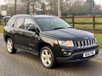 2011 JEEP COMPASS 2.1 CRD LIMITED 4WD 5d 161 BHP £4749.00