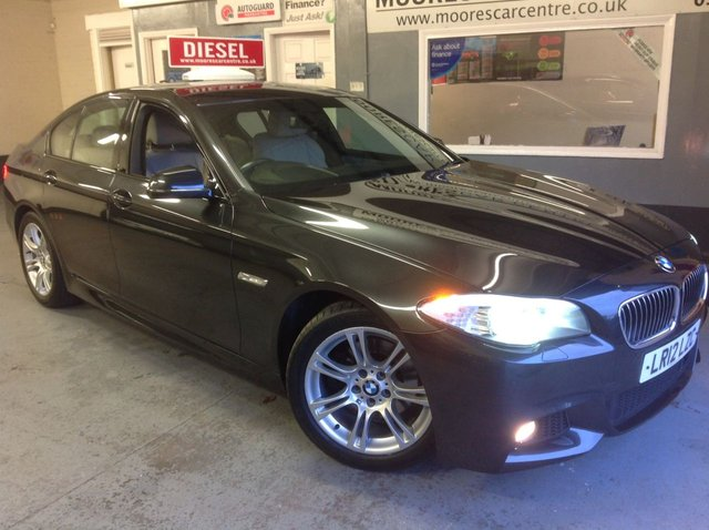 2012 12 BMW 5 SERIES 520D M SPORT AUTOMATIC 181 BHP