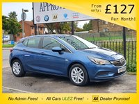 2016 VAUXHALL ASTRA 1.4 DESIGN 5d 99 BHP SOLD