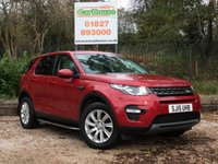 USED 2015 15 LAND ROVER DISCOVERY SPORT 2.2 SD4 SE TECH 5dr 7st HUGE Spec, Pan Roof, FLRSH