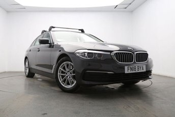 2018 BMW 5 SERIES 2.0 520I SE 4d AUTO 181 BHP £20795.00