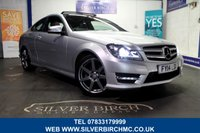 USED 2014 14 MERCEDES-BENZ C CLASS 1.6 C180 AMG SPORT EDITION PREMIUM PLUS 2d 154 BHP 1 Owner, Pan Roof, Comand