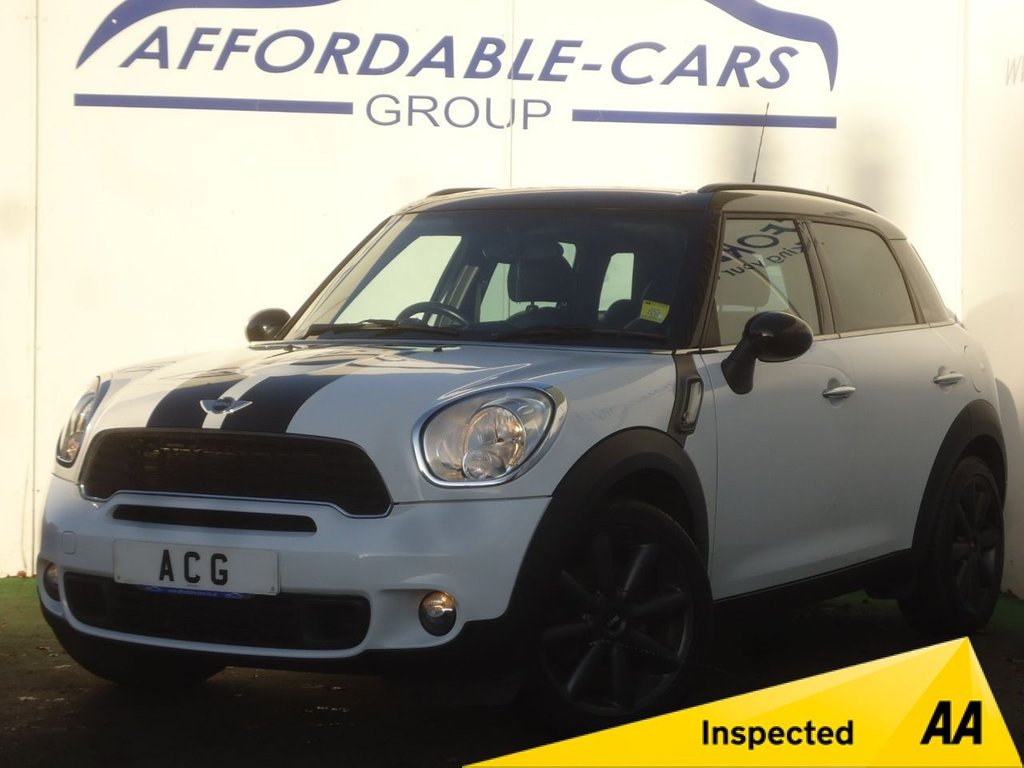 USED 2011 M MINI COUNTRYMAN 1.6 COOPER S 5d 184 BHP