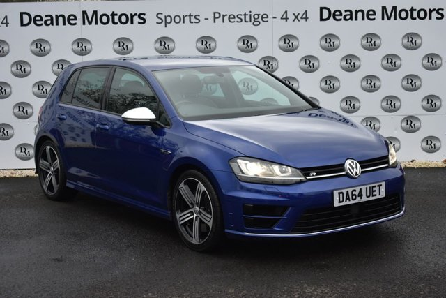 2014 64 VOLKSWAGEN GOLF 2.0 R 5d 298 BHP SALE TAKE £300 OFF