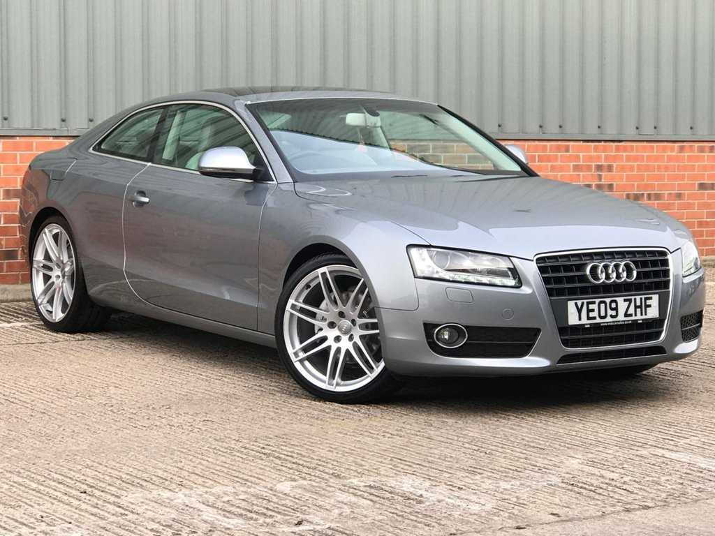 USED 2009 09 AUDI A5 2.7 TDI SPORT 3d 187 BHP OVER £7000 WORTH OF FACTORY FITTED OPTIONS