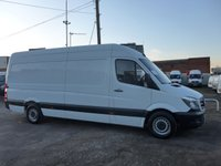 USED 2017 17 MERCEDES-BENZ SPRINTER 314 CDI LWB HI ROOF, 140 BHP [EURO 6]