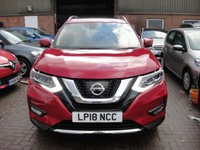 USED 2018 18 NISSAN X-TRAIL 1.6 DIG-T TEKNA 5d 163 BHP ANY PART EXCHANGE WELCOME, COUNTRY WIDE DELIVERY ARRANGED, HUGE SPEC