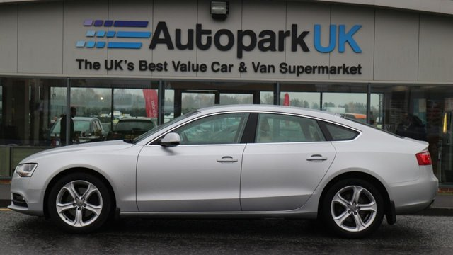 USED 2013 13 AUDI A5 2.0 SPORTBACK TDI QUATTRO SE S/S 5d 174 BHP LOW DEPOSIT OR NO DEPOSIT FINANCE AVAILABLE