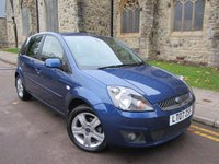 USED 2007 07 FORD FIESTA 1.2 ZETEC CLIMATE 16V 5d 78 BHP +++ ONLY 20669 MILES +++