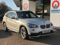 USED 2015 15 BMW X1 2.0 XDRIVE20D XLINE 5d 181 BHP SAT NAV   BLACK LEATHER  