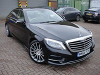 2016 MERCEDES-BENZ S CLASS 3.0 S 350 D L AMG LINE EXECUTIVE PREMIUM PLUS 4d 255 BHP £31999.00