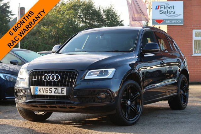 USED 2015 65 AUDI Q5 3.0 TDI QUATTRO S LINE PLUS 5d 258 BHP AUTOMATIC, BANG AND OLUFSEN SOUND, FRONT AND REAR PDC